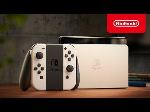 Nintendo Switch(有機ELモデル) 初公開映像